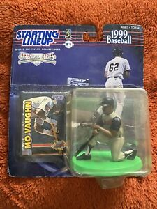 MO VAUGHN Starting Lineup - MLB 1999 Extended Figure & Card - Angels - BRAND NEW