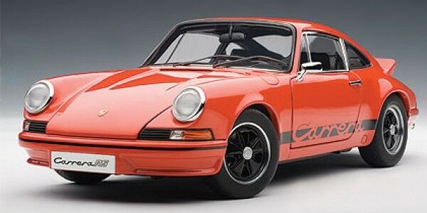 AutoArt Porsche 911 Carrera RS 2.7 1973 orange-black 1 18 78054