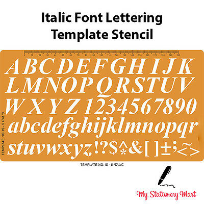 STENCILS ALPHABET LETTERING NUMBERS TEMPLATE FRENCH CURVE CIRCLE STENCIL SHAPES