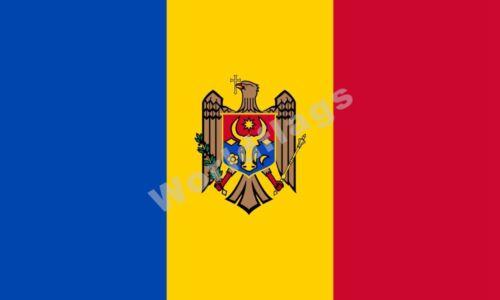 National Flag Moldova Flag 3X2FT 5X3FT 6X4FT 8X5FT 100D Polyester Banner