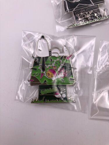 SDCC Tokidoki x Peanuts Enamel Pins Set of 5 B3