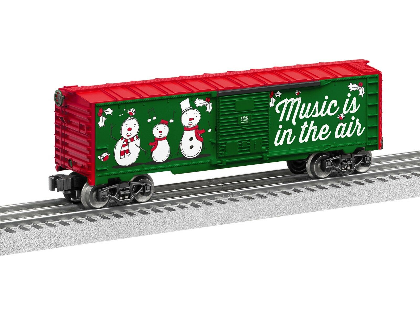 LIONEL 6-84748 CHRISTMAS MUSIC BOXCAR -  18