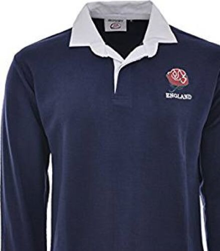 ENGLAND ENGLISH RUGBY SHIRT RETRO  ENGLISH  CLASSIC BRAND NEW  ALL SIZE S to 5XL