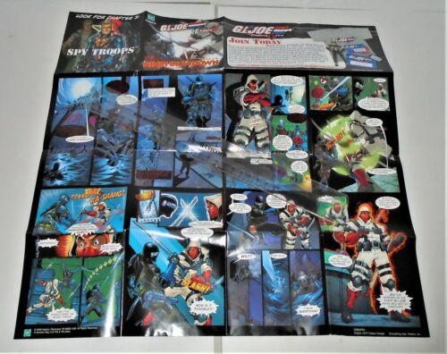 2002 GI Joe vs Cobra Hasbro MINI COMIC #2 Catalog Ninja Showdown LARRY HAMA