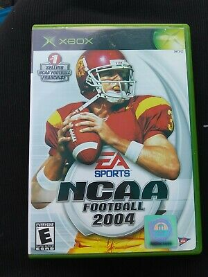 NCAA Football 2004 (Microsoft Xbox, 2003) 14633146417 | eBay