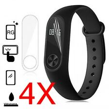4pcs Clear Screen Protector Protective Film Guard for XIAOMI Mi Band 2 Watch /2