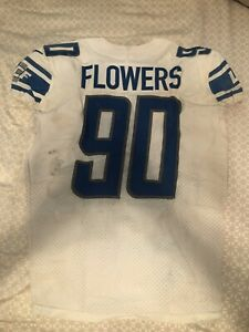 Details about Trey Flowers Game Used/Worn Jersey Detroit Lions NFL PSA