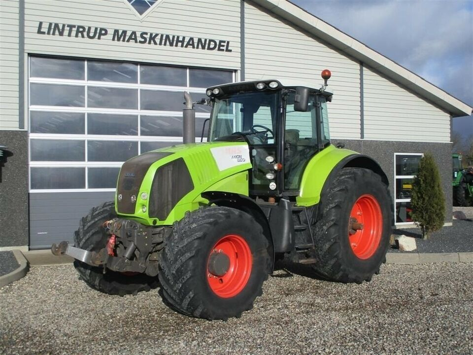 CLAAS, AXION 850 Cebis med frontlift, timer 9747