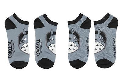 My Neighbor TOTORO Licensed Oh TOTORO Tonal Grey Ankle SOCKS Studio Ghibli Adult