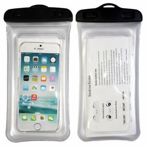 reputable site 35780 97ed5 Details about Waterproof Floating Case Cover For Apple Android Samsung  Phone Touch Sensitive