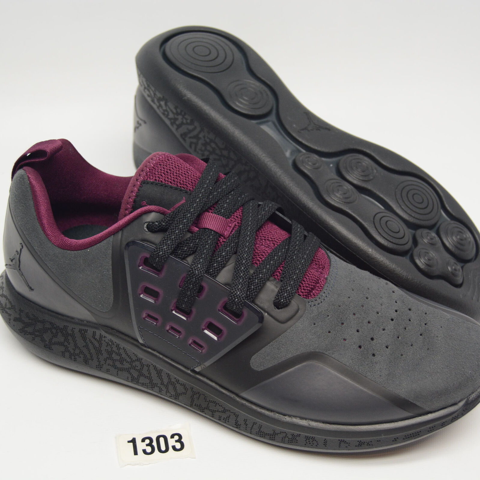 NIKE AIR JORDAN LUNAR GRIND Black Training shoes Mens 9.5 NEW AA4302-017