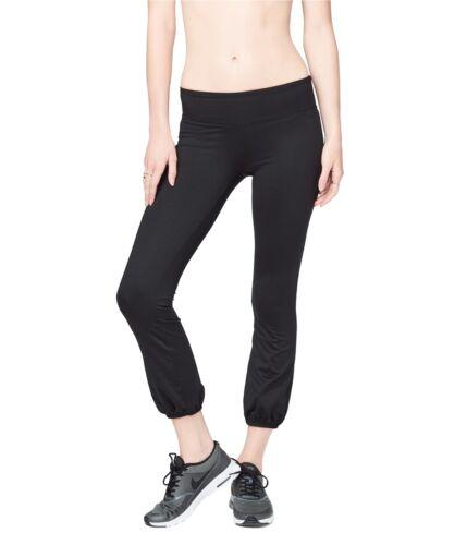 Aeropostale Womens No Sweat Casual Leggings X-Small black