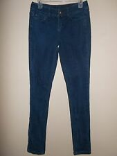 DKNY Sample Womens Size 4 Blue Jeans Slim Skinny 5 Pocket Style Inseam 35""