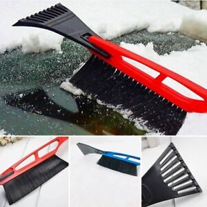 Zento Deals Car Vehicle Auto Van Bus Winter Snow /& Ice Scraper Brush Sleet Cold