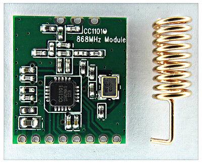 1//2//5pcs cc1101 868mhz Wireless Module long distance transmission antenna 1.8v