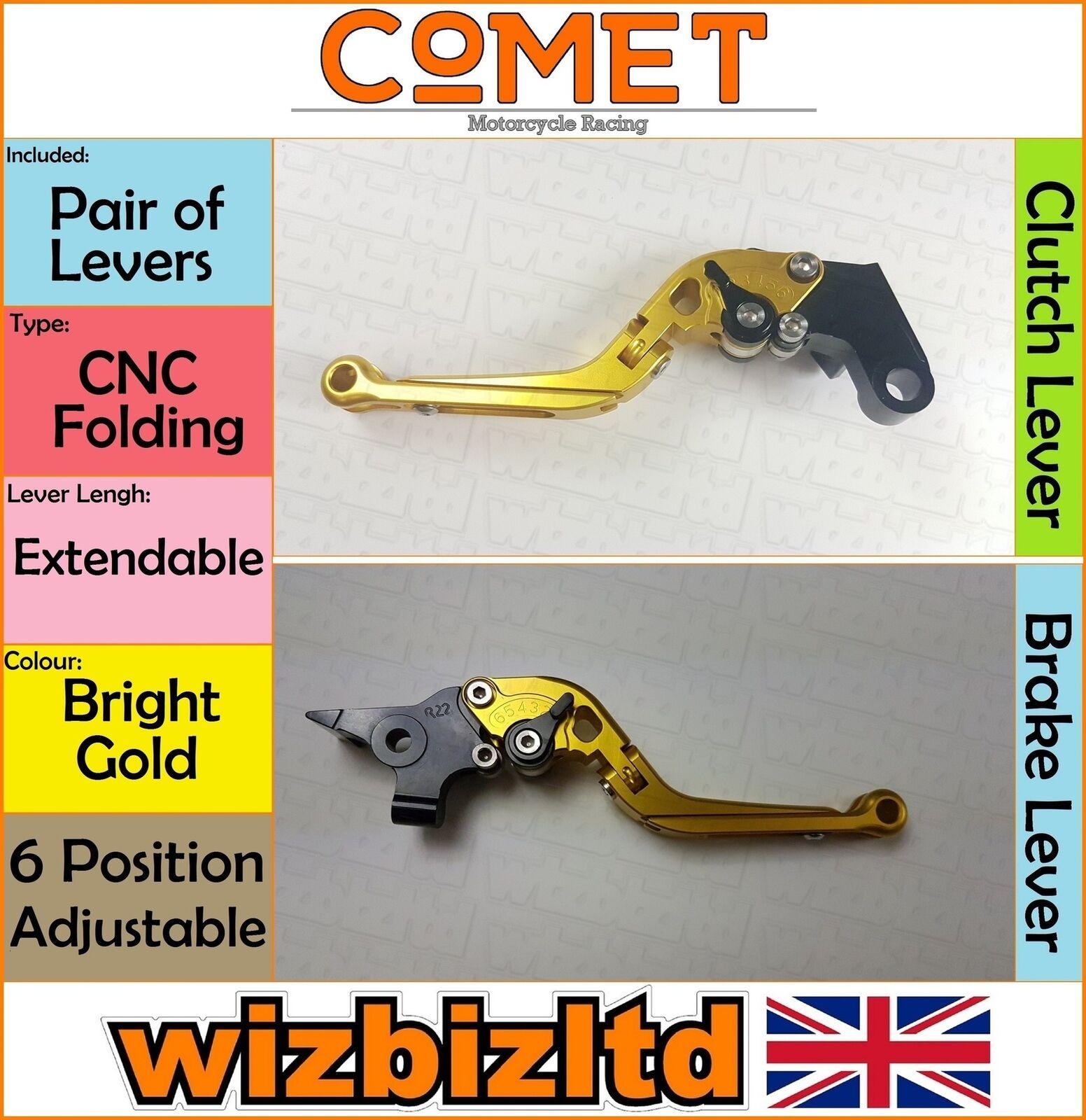 Comet Hebel Yamaha Fz 8  Fazer 2011-2015 ( CNC Erweiterbar gold) Lv37xgd