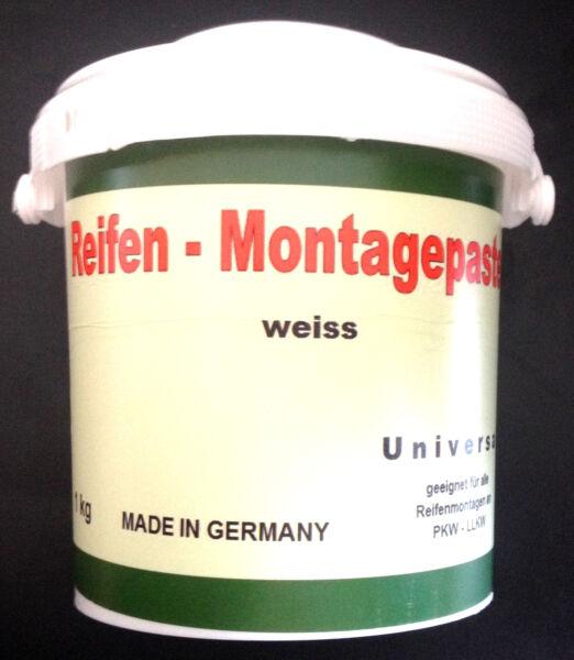 (grundpreis 4,90 €/kg ) Reifenmontagepaste 1 Kg Reifen Montage-wax Weiss Koop Nu