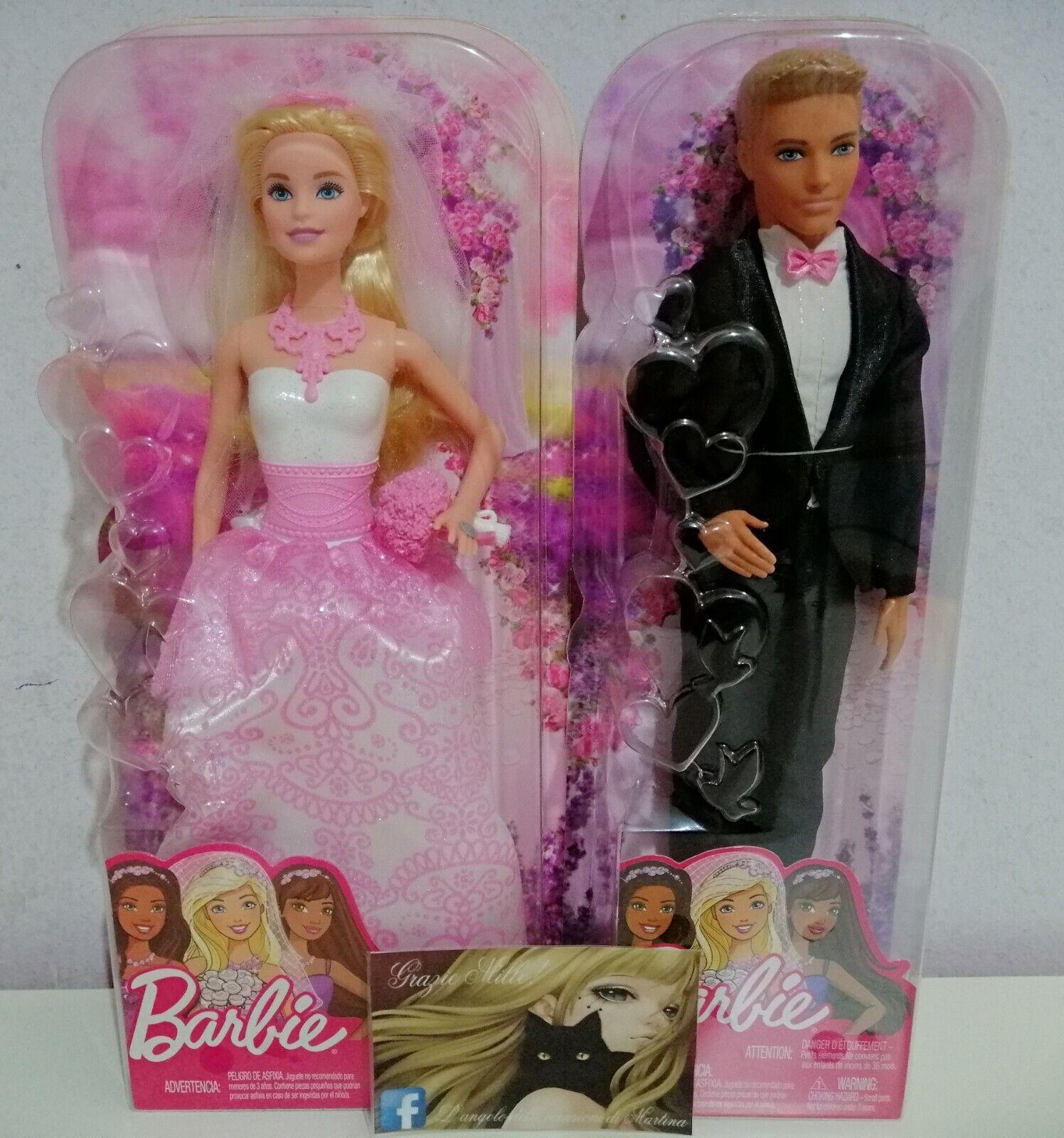 Barbie e Ken -  Sposi (NUOVI ) - Mattel  essere molto richiesto