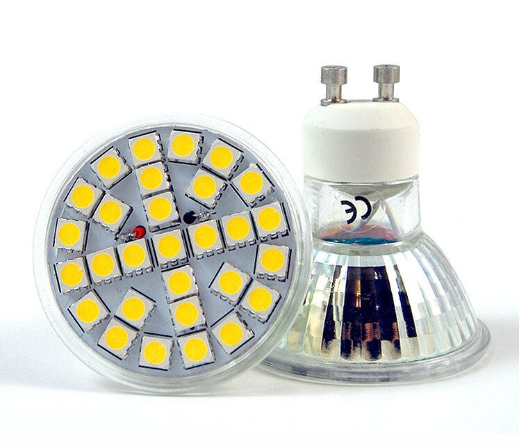 GU10 LED BULBS 7W SMD SPOT LIGHTS HIGH POWER SUPER BRIGHT WARM   DAY Weiß UK