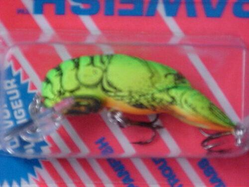 """Rebel 2/"""" F7634 1//5oz Lite Wee-Crawfish Lure for Bass//Panfish//Trout//Pickerel"""