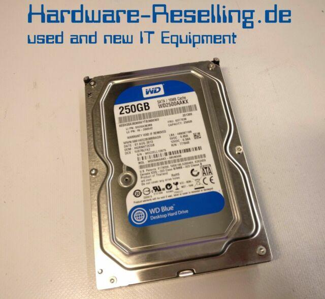 """WD Western 250GB 7200 RPM 3,5 """" SATA WD2500AAKX-08U6AA0"""