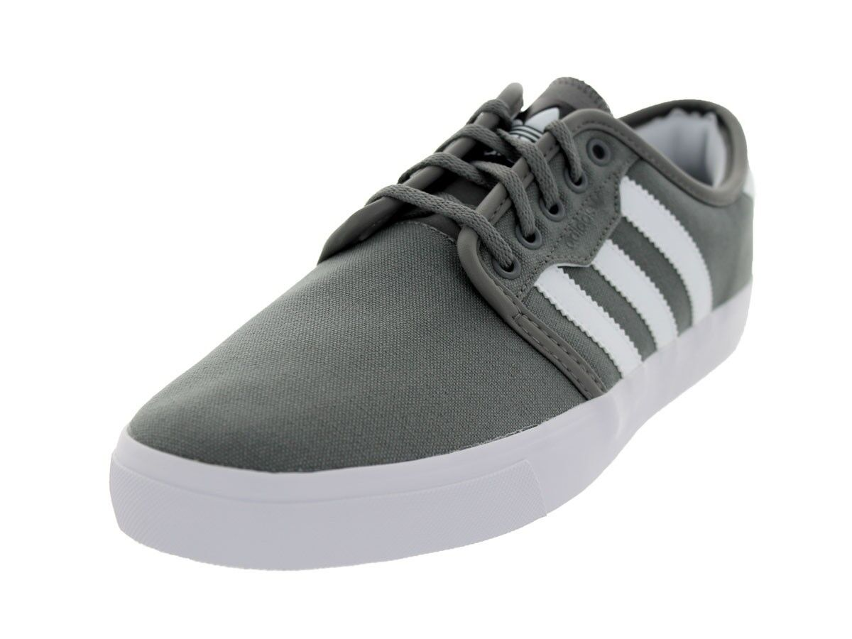 ADIDAS SEELEY LOW SNEAKERS SHOES MEN SHOES SNEAKERS GREY/WHITE G66637 SIZE 13 NEW f934e2