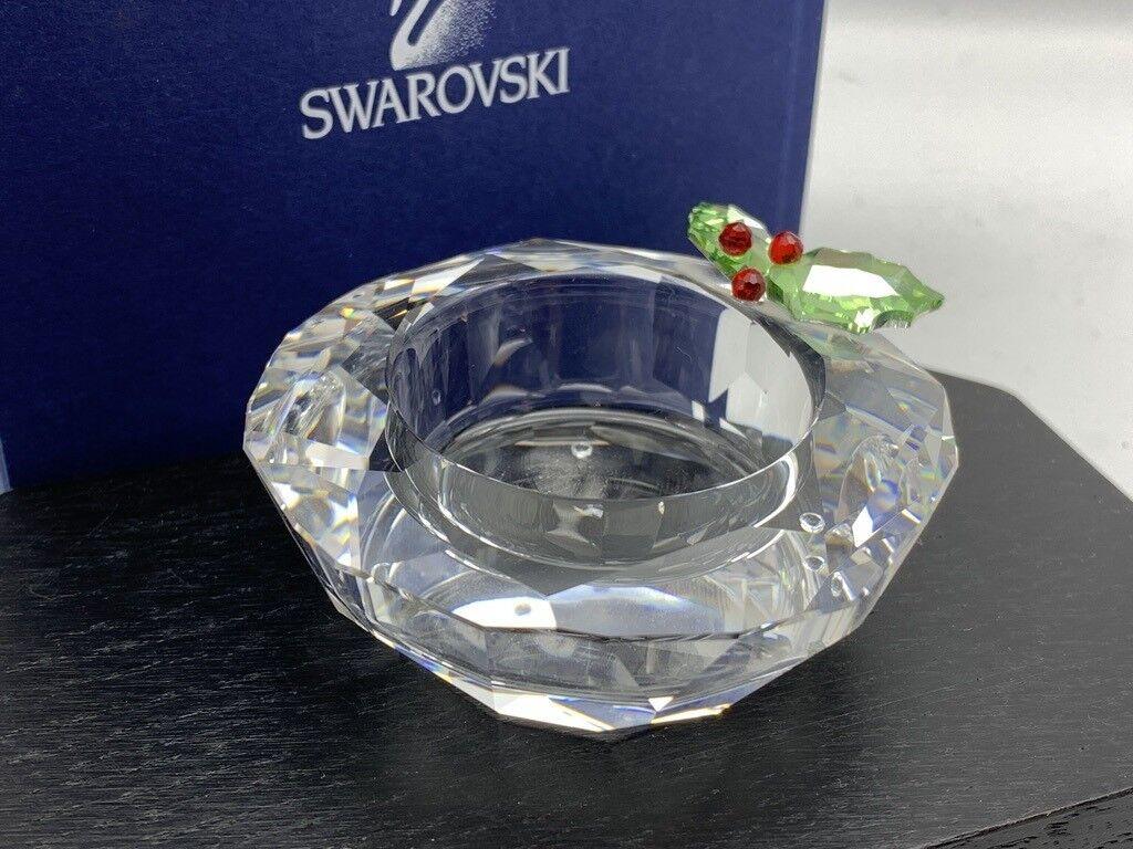 Swarovski Figur 867401 Teelichthalter Teelichthalter Teelichthalter Xmas 7 cm. Ovp & Zertifikat 7f7505