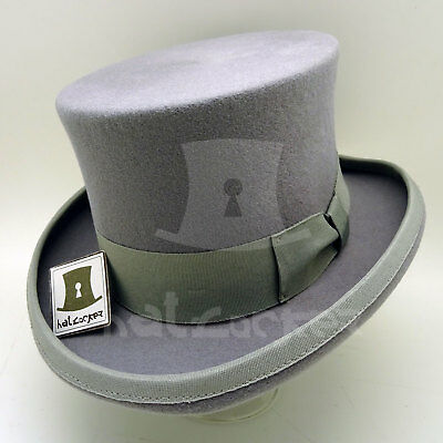 CLASSIC Wool Felt Kids Top Hat Child Topper Boys Tuxedo Party52cmYellow