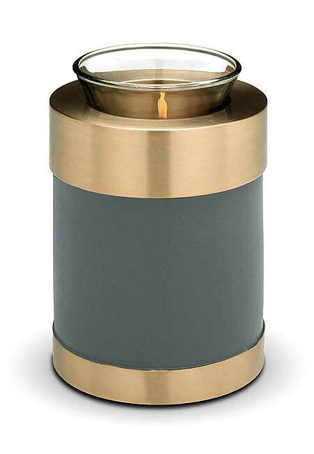 Bougeoir Souvenir (Vert) (Vert) Souvenir Crémation Cendres/Funeral/Belle Mini Urne c481cc