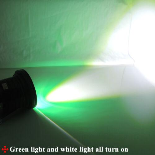 "2 High Power 3.0/"" Car Truck LED Fog Light Lamp w// Green COB Halo Angel Eye Rings"