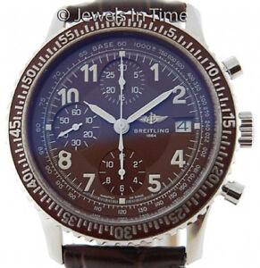 Breitling-Navitimer-Aviastar-A13024-Ultra-rare-Havana-Watch