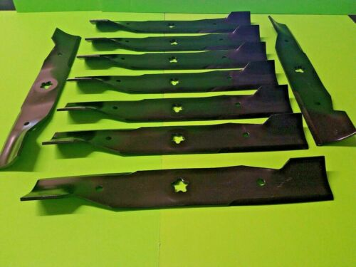 "Genuine Husqvarna 532180054 High-Lift Blades for 48/"" Deck 9 NOT AFTERMARKET"