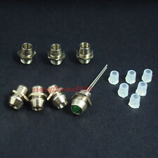 1000pcs 3mm Chrome Metal LED Bezel Holder Panel Display LED Holders New