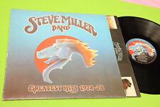 STEVE MILLER BAND LP GREATEST ORIG ITALY 1978 EX !!!!!!!!!!!!!!!!!!!!!