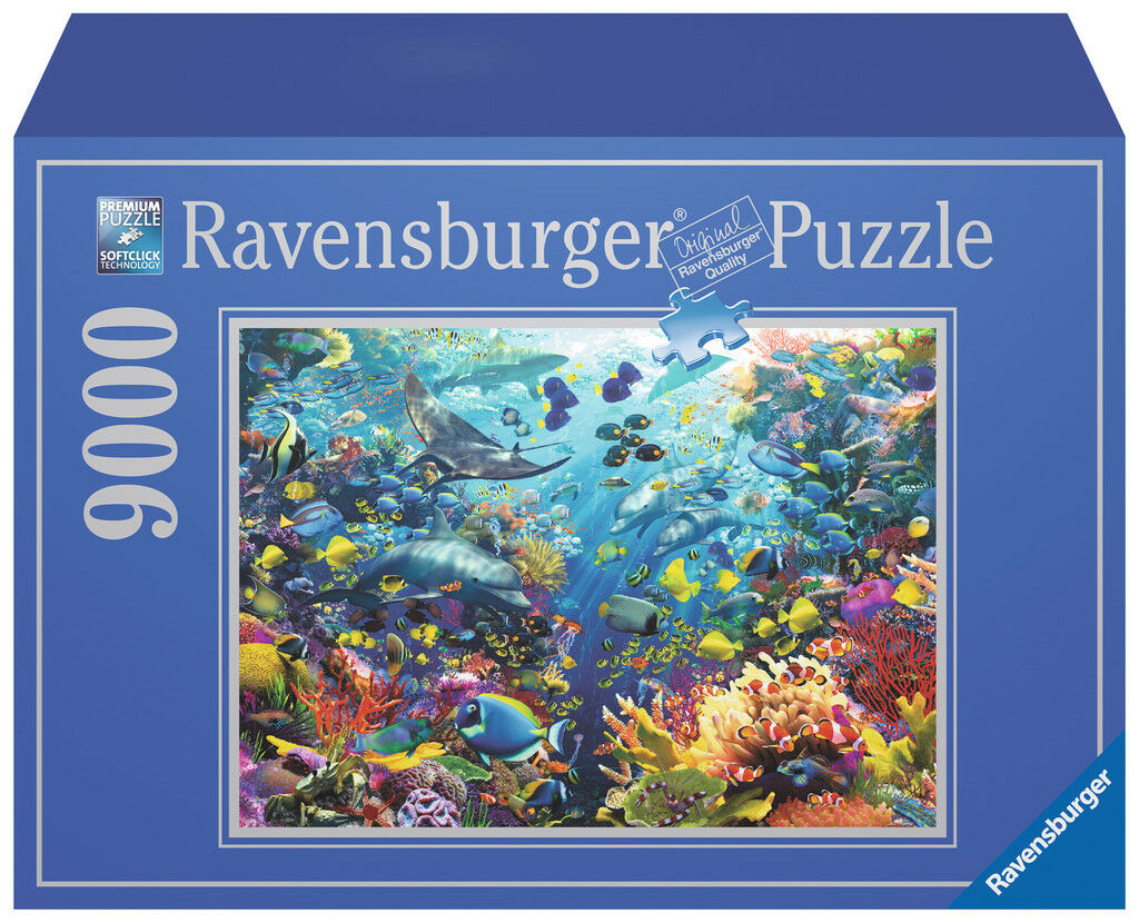 RAVENSBURGER  PUZZLE  9000 PIECE. UNDERWATER PARADISE. ITEM.NR.17807. NEW