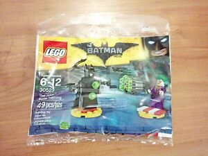 LEGO The Batman Movie 30523 The Joker Battle Training -- New Sealed Polybag