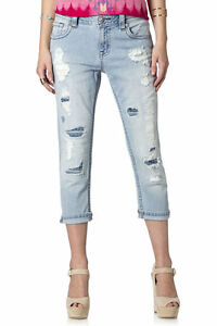 Miss Me Cut it Out Boyfriend Capri JB5151P90 NWT