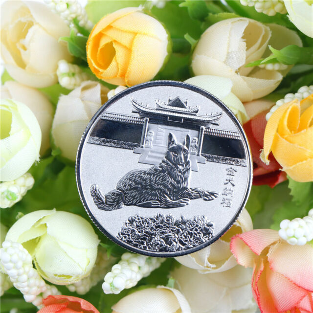 silver The Chinese Zodiac Dog Art Collection Commemorative Coins BLCA