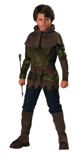 Robin Hood Child Costume Kids Boys Hero Movie Vigilante Theme Party Halloween