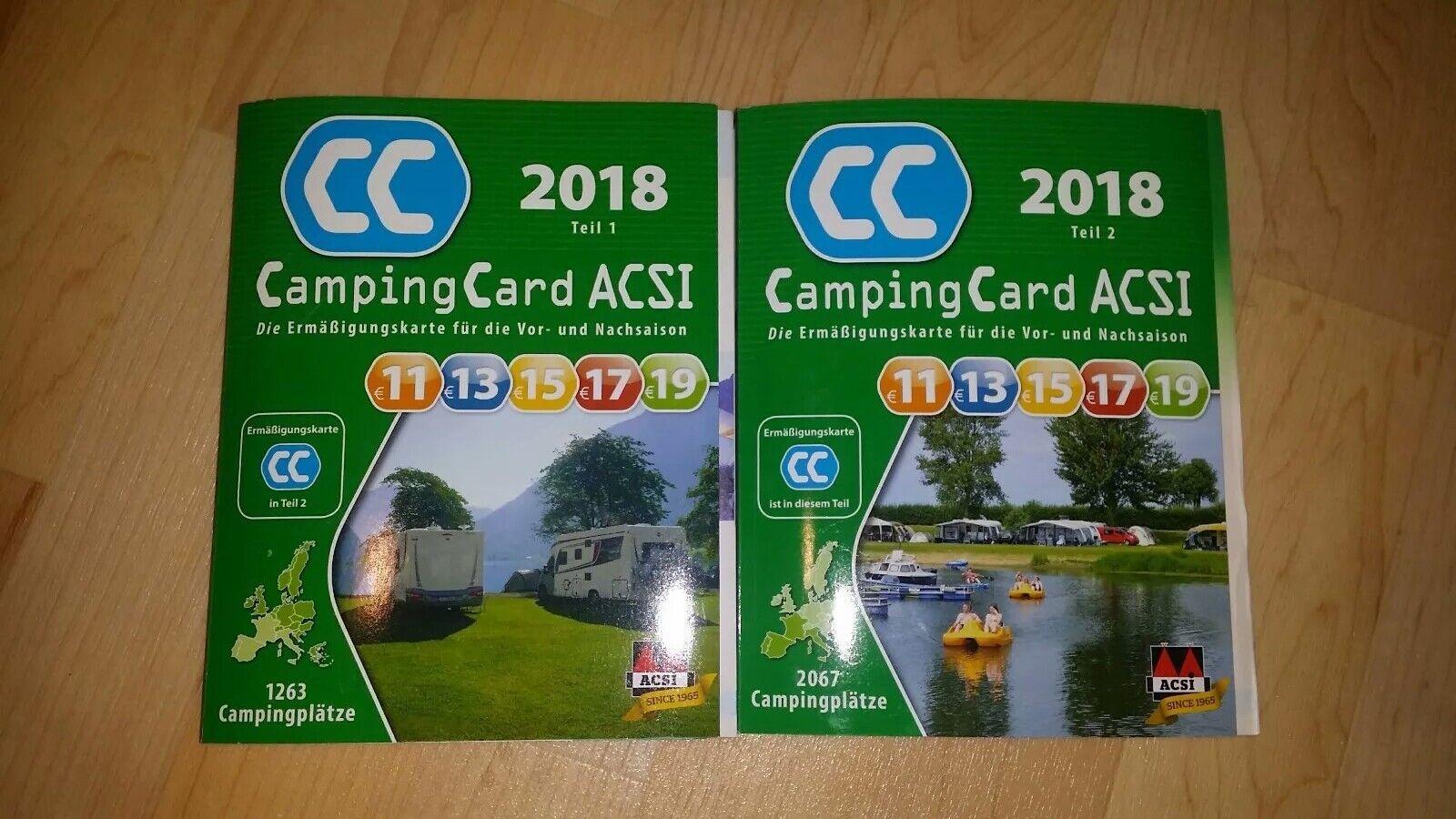 Acsi Karte.Acsi Campingcard 2019 Campingfuhrer