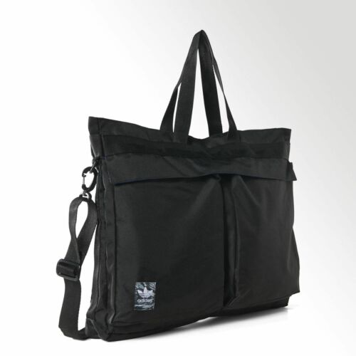 adidas Originals Classic Street Shopper Bag Black TrefoilS20089