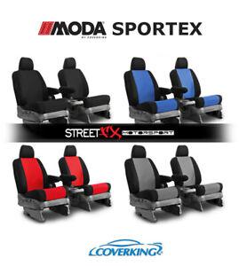 Coverking MODA Sportex Spacer Mesh Custom Front Seat Covers for Honda Pilot