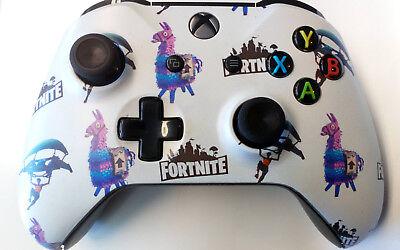 Custom Xbox One Controller Fortnite Pattern Matte Finish Ebay