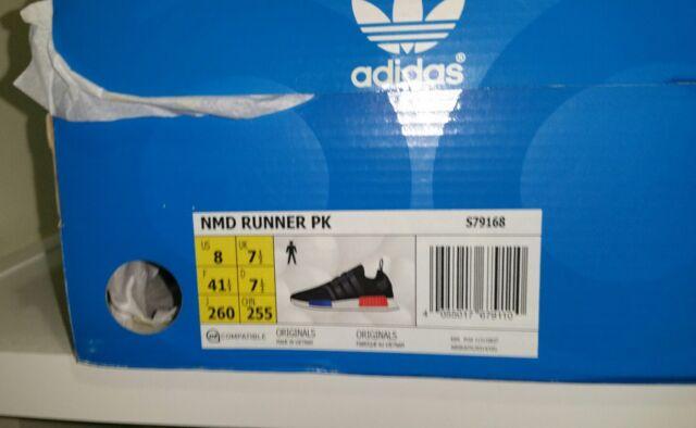 49baae9b8 adidas NMD Runner PK OG S79168 2015 Release 8.0 US Primeknit Very RARE Size  for sale online