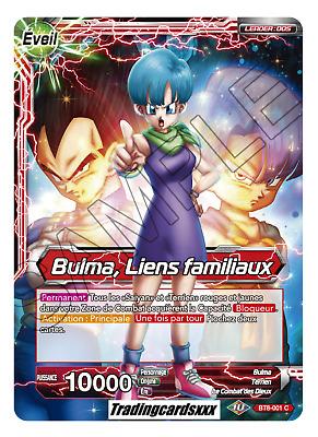 Carte Dragon Ball Super SELIPA LIENS REDORES TB3-026 R DBZ FR NEUF