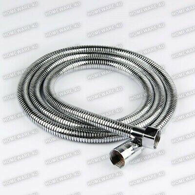 NEW CHROME STAINLESS STEEL FLEXIBLE SHOWER HEAD HOSE PIPE WASHERS
