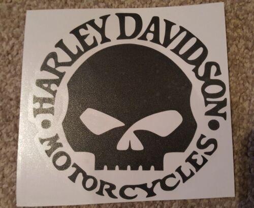 harley davidson car// bike decal vinyl sticker