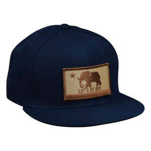75fc25bb24baf Image is loading LET-039-S-BE-IRIE-Snapback-Hat-California-