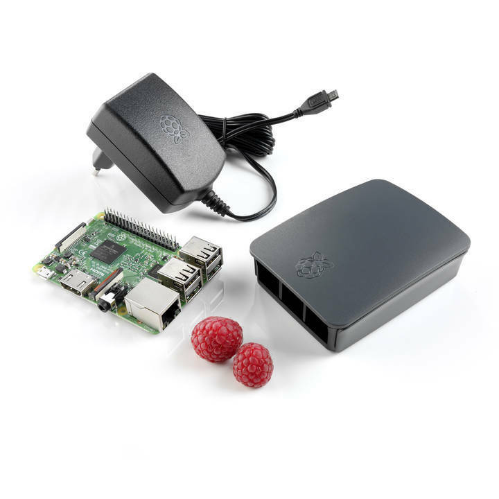 Raspberry pi3 starter kit + carte 32gb
