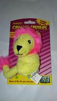 Nanco Catnip Pal Crinkle Critter Lion Cat Toy 4. Free Shipping To The Usa